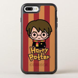 Coque Otterbox Symmetry Pour iPhone 7 Plus Art de personnage de dessin animé de Harry Potter