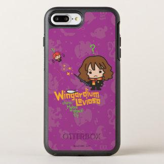 Coque Otterbox Symmetry Pour iPhone 7 Plus Bande dessinée Hermione et charme de Ron