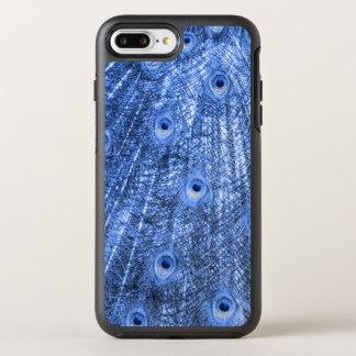 Coque Otterbox Symmetry Pour iPhone 7 Plus Cellule d'Iphone de bleu de paon