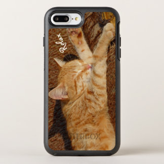 Coque Otterbox Symmetry Pour iPhone 7 Plus Chat de détente