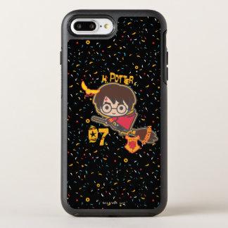 Coque Otterbox Symmetry Pour iPhone 7 Plus Chercheur de Harry Potter Quidditch de bande
