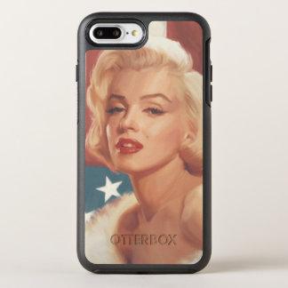 Coque Otterbox Symmetry Pour iPhone 7 Plus Drapeau de Marilyn