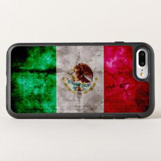 Coque Otterbox Symmetry Pour iPhone 7 Plus Drapeau vintage patiné du Mexique