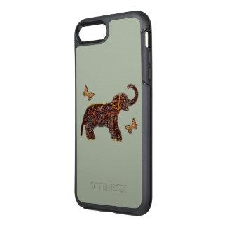 Coque Otterbox Symmetry Pour iPhone 7 Plus Éléphant rose exotique