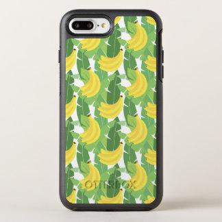 Coque Otterbox Symmetry Pour iPhone 7 Plus Feuille de banane et motif de fruit