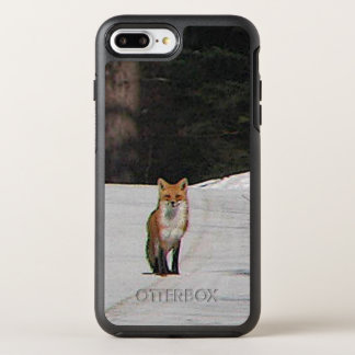 Coque Otterbox Symmetry Pour iPhone 7 Plus Fox rouge chez l'animal de neige