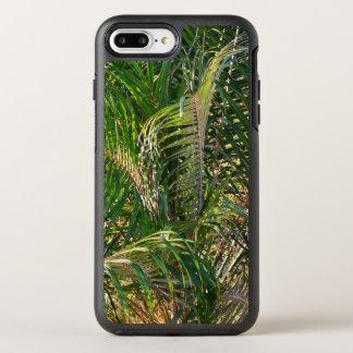 Coque Otterbox Symmetry Pour iPhone 7 Plus Frondes de paume de Lit de coucher du soleil