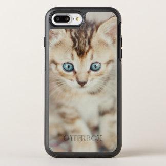 Coque Otterbox Symmetry Pour iPhone 7 Plus Kitty observé par bleu