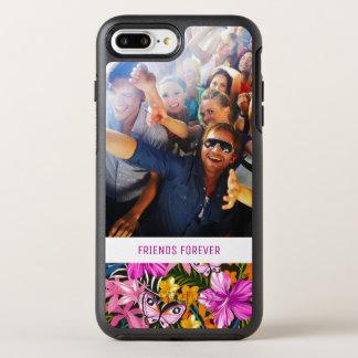Coque Otterbox Symmetry Pour iPhone 7 Plus Le feuille et les fleurs tropicaux   ajoutent