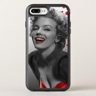 Coque Otterbox Symmetry Pour iPhone 7 Plus Le rouge pointille Marilyn