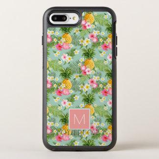 Coque Otterbox Symmetry Pour iPhone 7 Plus Les fleurs et les ananas tropicaux | ajoutent