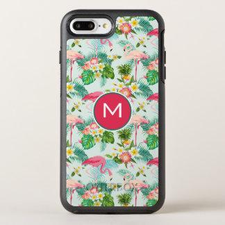 Coque Otterbox Symmetry Pour iPhone 7 Plus Les fleurs et les oiseaux tropicaux | ajoutent