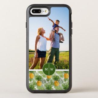 Coque Otterbox Symmetry Pour iPhone 7 Plus Les paumes et Pineapples| ajoutent votre photo et