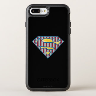 Coque Otterbox Symmetry Pour iPhone 7 Plus Logo rayé du S-Bouclier | de Superman