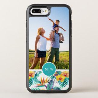 Coque Otterbox Symmetry Pour iPhone 7 Plus L'oiseau du paradis et Orchid| ajoutent votre