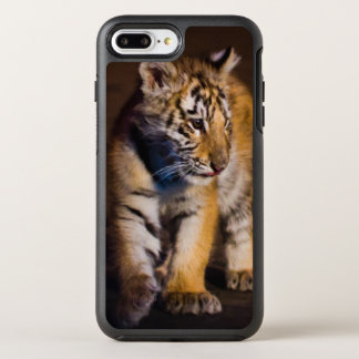 Coque Otterbox Symmetry Pour iPhone 7 Plus Marche de CUB de tigre