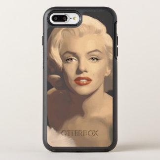 Coque Otterbox Symmetry Pour iPhone 7 Plus Marilyn grise graphique