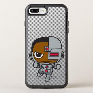 Coque Otterbox Symmetry Pour iPhone 7 Plus Mini cyborg 2