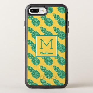 Coque Otterbox Symmetry Pour iPhone 7 Plus Monogramme du motif | d'ananas