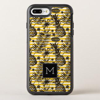 Coque Otterbox Symmetry Pour iPhone 7 Plus Monogramme tiré par la main des ananas |