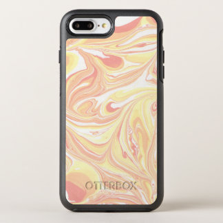 Coque Otterbox Symmetry Pour iPhone 7 Plus Motif de marbre coloré