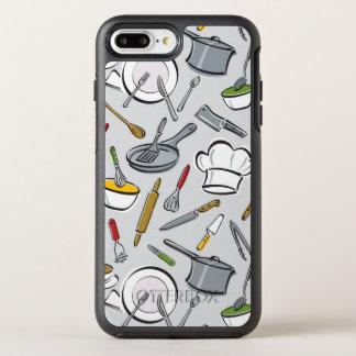 Coque Otterbox Symmetry Pour iPhone 7 Plus Motif d'outils de cuisine