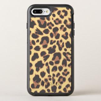 Coque Otterbox Symmetry Pour iPhone 7 Plus Motifs de peau d'animal d'empreinte de léopard