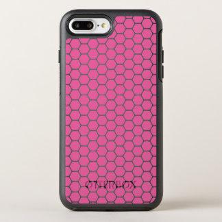 Coque Otterbox Symmetry Pour iPhone 7 Plus Nid d'abeilles rose