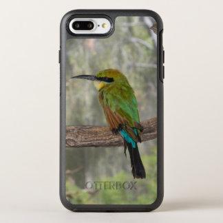 Coque Otterbox Symmetry Pour iPhone 7 Plus Oiseau d'abeille-mangeur d'arc-en-ciel, Australie