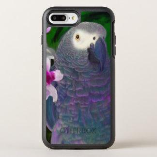 Coque Otterbox Symmetry Pour iPhone 7 Plus Perroquet de gris africain