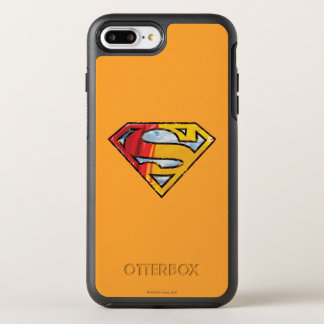 Coque Otterbox Symmetry Pour iPhone 7 Plus S-Bouclier logo rouge et orange de | de Superman