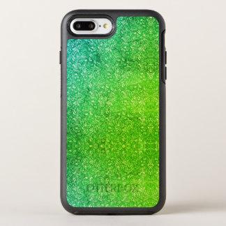 Coque Otterbox Symmetry Pour iPhone 7 Plus Vitalité colorée lumineuse florale verte au néon