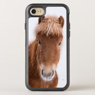 Coque Otterbox Symmetry Pour iPhone 7 Portrait de cheval islandais