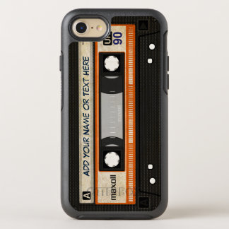 Coque Otterbox Symmetry Pour iPhone 7 Rétro cassette audio de l'old-fashioned 80s