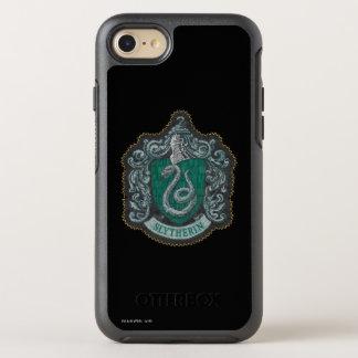 Coque Otterbox Symmetry Pour iPhone 7 Rétro Slytherin crête puissante de Harry Potter |