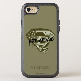 Coque Otterbox Symmetry Pour iPhone 7 S-Bouclier   de Superman non effrayé - logo des