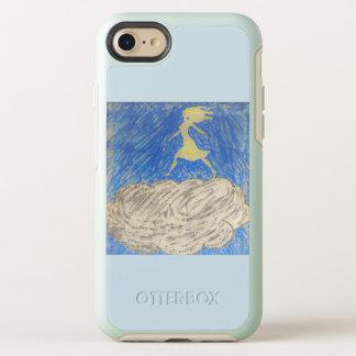 Coque Otterbox Symmetry Pour iPhone 7 silhouette de femme marchant sur un cas de
