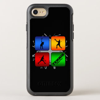 Coque Otterbox Symmetry Pour iPhone 7 Style urbain de tennis extraordinaire (mâle)