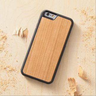 Coque Pare-chocs En Cerisier iPhone 6 Cas de butoir en bois de l'iPhone 6/6s