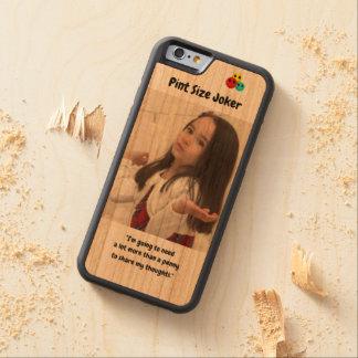 Coque Pare-chocs En Cerisier iPhone 6 Joker de taille de pinte : Penny pour vos pensées