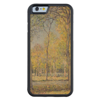 Coque Pare-chocs En Érable iPhone 6 Alfred Sisley   le Bois de Boulogne