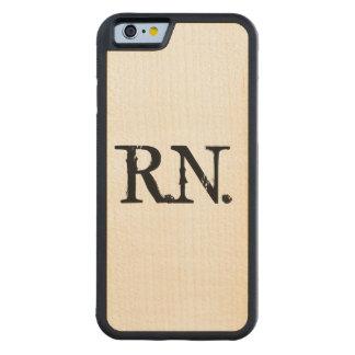 Coque Pare-chocs En Érable iPhone 6 Cas en bois de téléphone d'érable de l'infirmière