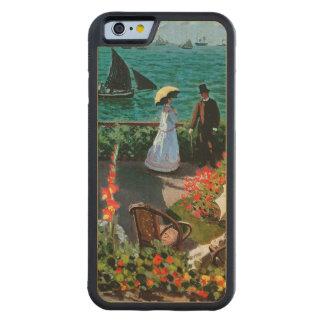 Coque Pare-chocs En Érable iPhone 6 Claude Monet | la terrasse chez Sainte-Adresse,