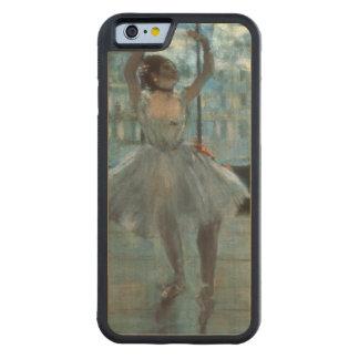 Coque Pare-chocs En Érable iPhone 6 Danseur d'Edgar Degas | devant une fenêtre