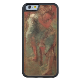 Coque Pare-chocs En Érable iPhone 6 Danseurs d'Edgar Degas | à la répétition, 1895-98