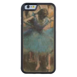 Coque Pare-chocs En Érable iPhone 6 Danseurs d'Edgar Degas | dans le bleu, 1890