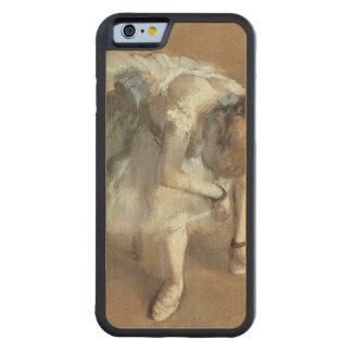 Coque Pare-chocs En Érable iPhone 6 Edgar Degas | attendant, c.1882