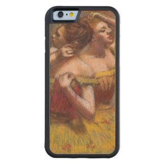 Coque Pare-chocs En Érable iPhone 6 Edgar Degas | deux danseurs