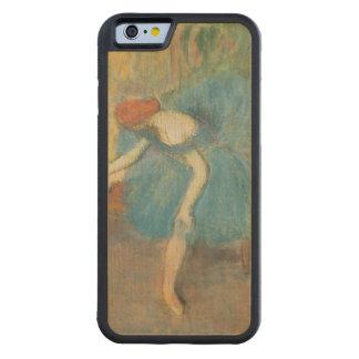 Coque Pare-chocs En Érable iPhone 6 Edgar Degas | deux danseurs au repos, danseurs