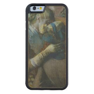 Coque Pare-chocs En Érable iPhone 6 Edgar Degas   deux femmes